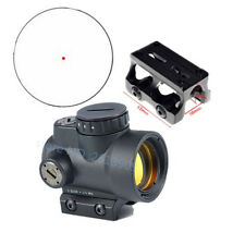 Tactical 1x25 Red dot sight scope 2.0 MRO Adapter for hunting shooting