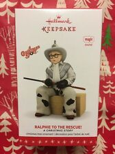HALLMARK 2016 RALPHIE TO THE RESCUE! A CHRISTMAS STORY ORNAMENT  NEW MAGIC