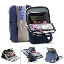 "GreatShield DENIM Jeans 7-8"" Tablet Sleeve w/ Stand Blue for Apple ipad mini"