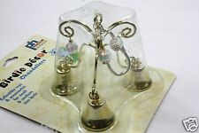 PET BIRD HOME DECOR BRASS CHANDELIER TOY FUN ACTIVITY FOR CAGE SMALL TO MEDIUM