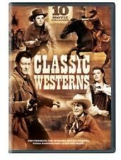 Classic Westerns: 10 Movie Collection [3 Discs] (2013, REGION 1 DVD New)