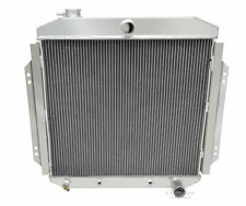 Champion 3 Row All Aluminum Radiator For 1957 - 60 Ford Truck Chevy V8 Config