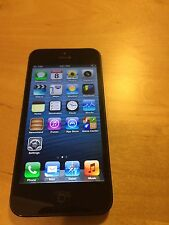 Apple iPhone 5 - 16GB - Black Slate Gray (Unlocked) Smartphone --RARE-- IOS 6