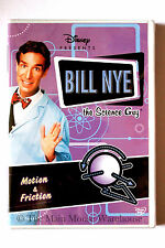 Disney Bill Nye The Science Guy Motion & Friction Educational DVD
