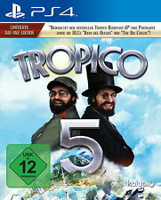 *Tropico 5 - Day One Edition für Sony PlayStation 4 PS4 (2015) wie NEU*