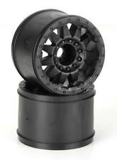 NEW Pro-Line F-11 3.8  Black 1/2  Offset 17mm Wheels (2) 2742-03