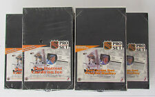 1991-92 Pro-Set Series 1 Hockey 36 CT Unopened Wax Boxes (5) Hasek Lidstrom RCs