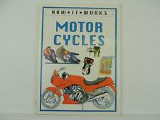 Vintage 1989 How It works Motorcycles Book Honda Gold Wing BMW Moto Guzzi LA5855