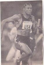 """*USA Runner Postcard-""""A Champion USA Runner"""" --??-- (#504)"""
