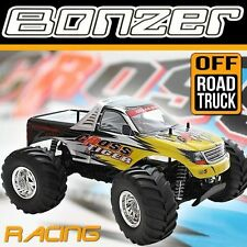 2.4 GHz HBX MONSTERTRUCK 4WD BONZER CROSS TIGER TRUCK OFFROAD GELÄNDE AU1 GELB