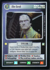 STAR TREK CCG REFLECTIONS SUPER RARE ELIM GARAK