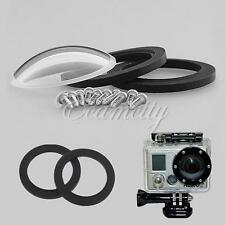 Glass Lens Cover for Gopro Go Pro Hero 2 Outdoor Camera Waterproof Housing Case
