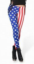 USA United States Flaggen Leggings Leggins Treggings Leggin Muster 34 36 S 11361