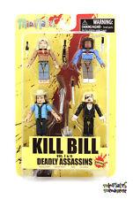 Kill Bill Minimates Deadly Assassins Box Set