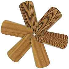 "Replacement Blades for 28-30"" Ceiling Fan 6/pk Reversible Med Oak / Teak_236-B60"