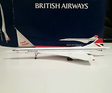 Gemini Jets GJBAW805 British Airways Negus Concorde 1/400 scale G-BOAA model