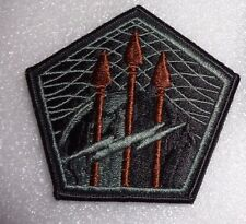 ARMY PATCH,SSI,  UNITED STATES CYBER COMMAND, ACU, WITH VELCR