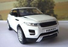 PERSONALISED PLATES Gift Land Rover Evoque Boys Dad Toy Car Model  Present Boxed