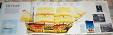 HUGE! HMS VICTORY POSTER picture print nelson trafalgar
