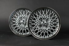 4x OZ MSW 7Jx15 poliert Felgen 4x100 BMW E21 E30ix Golf Polo Jetta Wheels Alloys