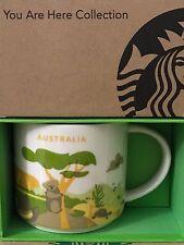 NEW Starbucks 2016 AUSTRALIA Your Are Here YAH mug NEW!