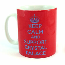 KEEP CALM AND SUPPORT CRYSTAL PALACE GIFT MUG CUP PRESENT FOOTBALL CLUB FC FAN