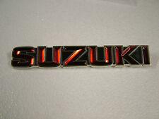 SUZUKI GT550, GT380, GT250, GT185, GT125, A100 TANK BADGE '73
