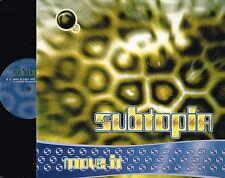 "SUBTOPIA Move It 12"" VINYL MAXI Dance Pool GERMANY 1994 DAN 661052 6 @N/Mnt@"