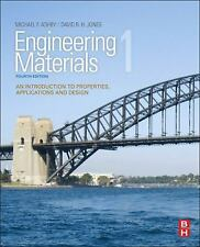ENGINEERING MATERIALS 1 - D. R. H. JONES MICHAEL F. ASHBY (PAPERBACK) NEW