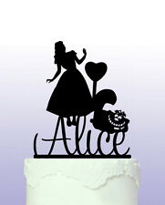 Alice In Wonderland Personalised Cake Topper