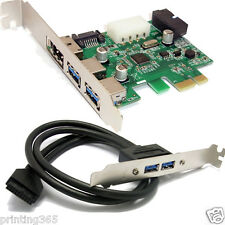 ESATA & SATA 3.0 Port combo PCI-e-mapas-adaptador + 20-pin a USB 3.0 panel frontal