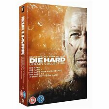 DIE HARD Complete Movie DVD Collection Part 1 2 3 4 5 Boxset + Extras New
