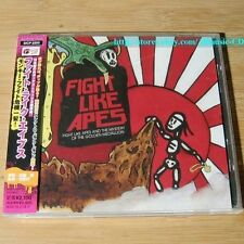Fight Like Apes And The Mystery Of The Golden Medallion JAPAN CD+2Bonus *31-3