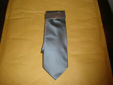 CALVIN KLEIN MEN'S STEEL TIE NEW