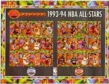 Finest 1993-94 NBA All-Stars Framed