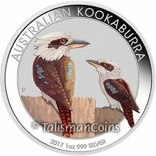 Australia 2017 Kookaburra Berlin World Money Fair Coin Show Special $1 Silver
