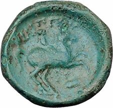 Philip II Alexander the Great Dad OLYMPIC GAMES Ancient Greek Coin Horse i47418