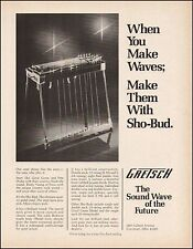The 1976 Gretsch Sho-Bud Model 6164 Pedal Steel guitar ad 8 x 11 advertisement