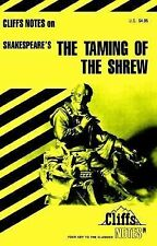 The Taming of the Shrew Cliff Notes