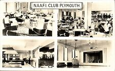Plymouth. NAAFI Club Multiview. Lounge, Cafeteria, Games Room & Ballroom.