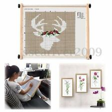 Adjustable Wooden Embroidery Frame Sewing Cross-stitch Tapestry Hand Craft Tool