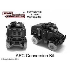 Zinge Industries APC Conv Kit 2x Axels,4x 27mm wheels, 2 forest sprues S-TAU01