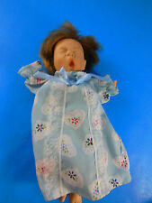 "Palm Pals Gi-Go 8"" Girl Doll with Blond Hair & sleeping Eyes yawning expression"