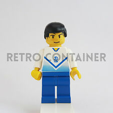 LEGO Minifigures - 1x soc081 - Soccer Player # 2 - Calciatore Omino Minifig 3420