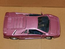 Maisto LAMBORGHINI Diecast Model Sports Car 1:18 Scale Purple 30 Special Edition