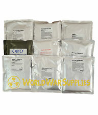 5 MAIN MEALS British Army MOD Food Ration Packs MRE Vestey Foods LONG LIFE Camp