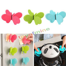 Random Adorable Butterfly Shaped Silicone Anti-scald Devices Kitchen Tool Gadget