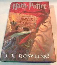 Harry Potter and the Chamber of Secrets by J K Rowling 1999 Hardcover•Dustjacket