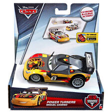 Disney Pixar SCALA 1:43 Cars Power Turners MIGUEL CAMINO Pull-Back Veicolo (DHN02