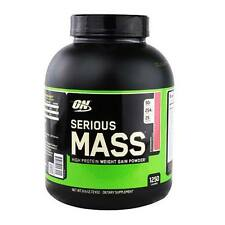 ON Optimum Nutrition Serious Mass 6 lbs Strawberry flavor
